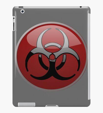 ZOMBIE APOCALYPSE HAZMAT by Zombie Ghetto iPad Case/Skin