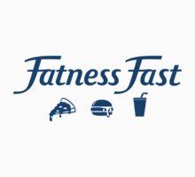 Fatness Fast Parody - Dark Text by jarodface