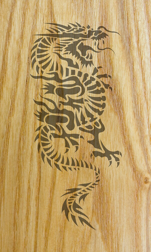 Wood Dragon by Bethany-Bailey