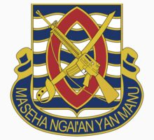 294th Infantry Regiment - Maseha Nga'an Yan Manu - Anywhere Anytime by VeteranGraphics