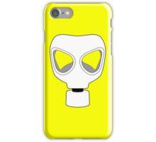 ZOMBIE APOCALYPSE GASMARK by Zombie Ghetto iPhone Case/Skin