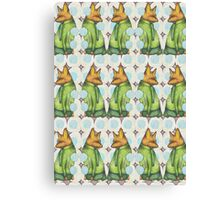 Fox Trot Mashup Canvas Print