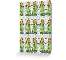 Fox Trot Mashup Greeting Card