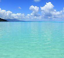 Lost in Tropical Space - Le Tahaa Coral Reef by Honor Kyne