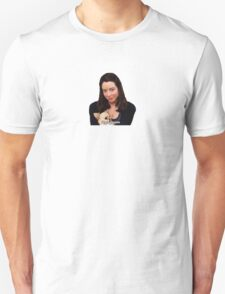 I Hate People. Unisex T-Shirt