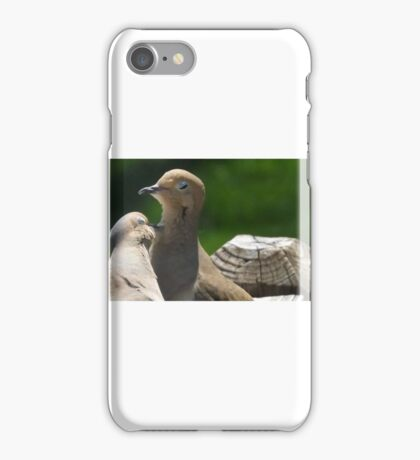 Grooming Doves iPhone Case/Skin