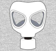 ZOMBIE APOCALYPSE GASMARK by Zombie Ghetto One Piece - Long Sleeve