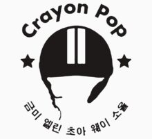 Crayon Pop Helmet T-Shirt! by koreanpride