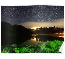Wildcat Lake Star Trail Poster