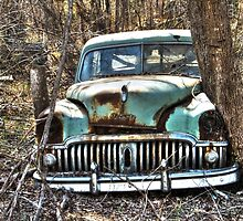 Abandoned Desoto - HDR by Sanguine