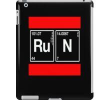 Run From Breaking Bad (White Text) iPad Case/Skin