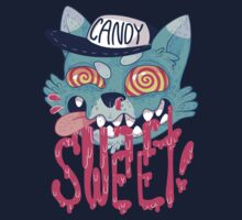 candy cat (green + pink) by skinnymister