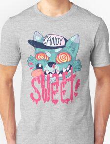 candy cat (green + pink) T-Shirt