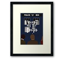 Vincent and the Doctor Framed Print