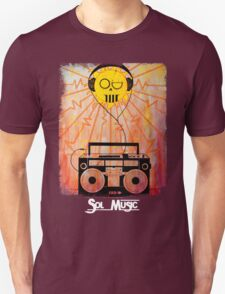 Sol Music - White Letters T-Shirt
