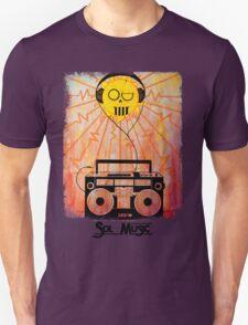 Sol Music - Black Letters T-Shirt