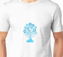 Internet of Thing Cloud Unisex T-Shirt