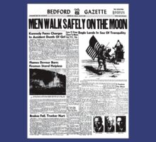 The Moon Landing Newspaper Article by NH-Graphics