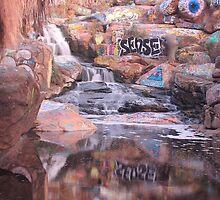 Adobe Falls by HaveANiceDaisy