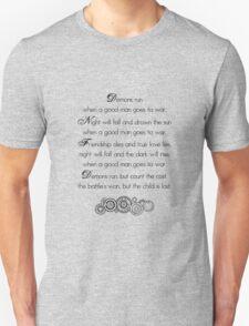 Doctor Who Demons Run Unisex T-Shirt