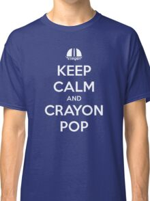 Keep Calm and Crayon Pop! Classic T-Shirt