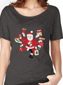 Dancing Shiva Claus - Spruce Forest Women's Relaxed Fit T-Shirt