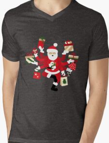 Dancing Shiva Claus - Spruce Forest T-Shirt