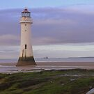 Perch rock Lighthouse by Lilian Marshall