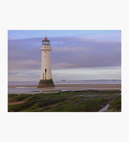Perch rock Lighthouse Photographic Print