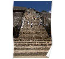 Ek' Balam - trek to the temple top? Poster