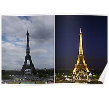 Eiffel Parallels Poster