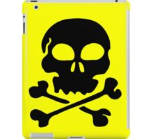SKULL AND CROSSBONES by Zombie Ghetto iPad Case/Skin