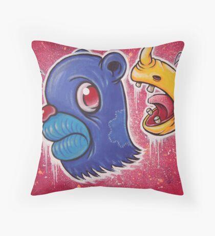 Whack, Man! Throw Pillow