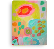 candy kisses Canvas Print
