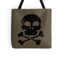 SKULL AND CROSSBONES by Zombie Ghetto Tote Bag