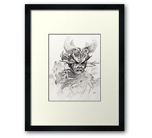 The Rascal Framed Print
