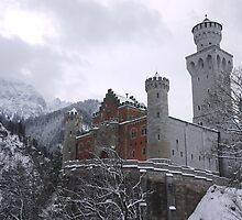 Grandeur Neuschwanstein by danieldemellis