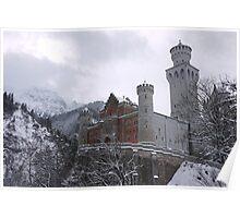 Grandeur Neuschwanstein Poster