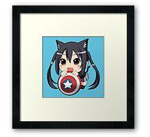 Chibi America Framed Print