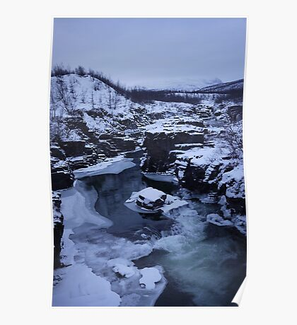 Snowcapped Scandinavia (II) Poster