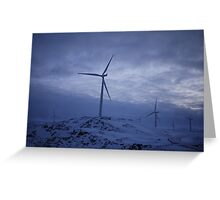 Snowcapped Scandinavia (III) Greeting Card