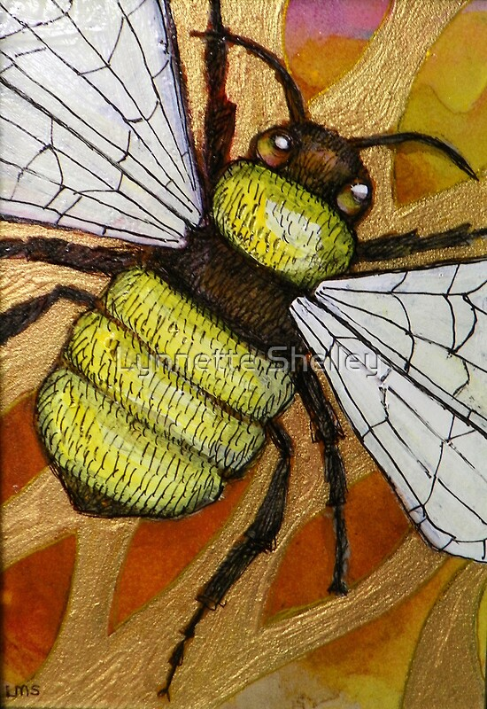 Quot Flight Of The Bumblebee Iv Quot By Lynnette Shelley Redbubble