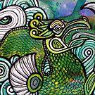 Green Sea Dragon II by Lynnette Shelley