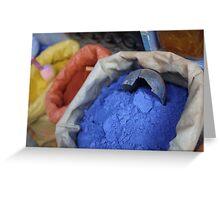 Moroccan Colour Splash Greeting Card