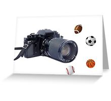 Sports Picture Greeting Card