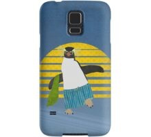 Northern Rockhopper Penguin on Spring Break Samsung Galaxy Case/Skin