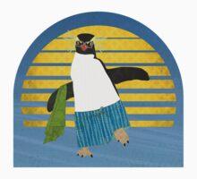 Northern Rockhopper Penguin on Spring Break Kids Clothes