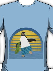 Northern Rockhopper Penguin on Spring Break T-Shirt