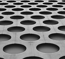 Perforated Concrete by sdunaway