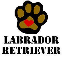 I Love My Labrador Retriever by kwg2200